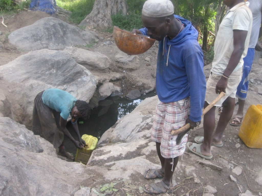 Ola community wants water access point