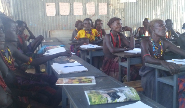 Functional literacy class for Women Cooperative members in Guerearema