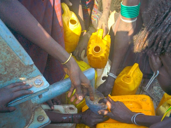 Much needed well in Bandar, Dasenech in South Omo Zone, Ethiopia